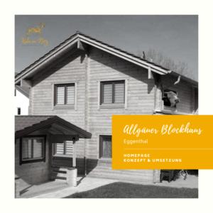 Instagram Referenz Allgäuer Blockhaus Eggenthal