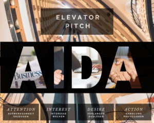 Marketingagentur - Kühe im Netz - Elevator Pitch AIDA