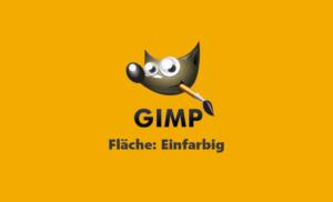 Webinar Gimp - Flächen Einfärben - Teil 1 - Einfarbig