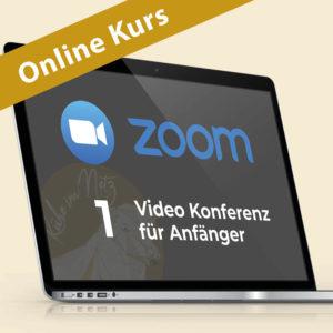 Zoom 1: Video Konferenz für Anfänger @ ONLINE