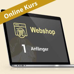 Webshop 1: Webdesign für Anfänger @ ONLINE