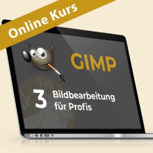 Gimp 3: Bildbearbeitung für Profis @ ONLINE