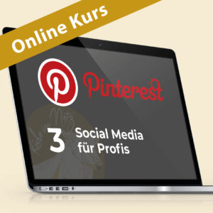 Pinterest 3: Social Media für Profis @ ONLINE