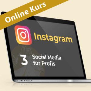 Instagram 3: Social Media für Profis @ ONLINE